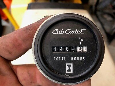 CUB CADET AMP Meter and Hour Meter for 1810,1811,1872,2072 will fit many  others