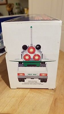 HESS 1999 toy truck and space shuttle preowned
