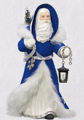Hallmark 2018 Father Christmas Porcelain Collector's Club Exclusive Ornament NIB