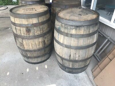 Whiskey Barrel Used 53 Gallon Solid Oak Local Pick up