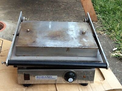 Commercial Roband Sandwich Press Flatgrill