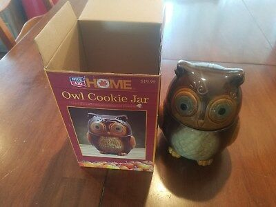 Rite Aid Home Brown owl cookie jar