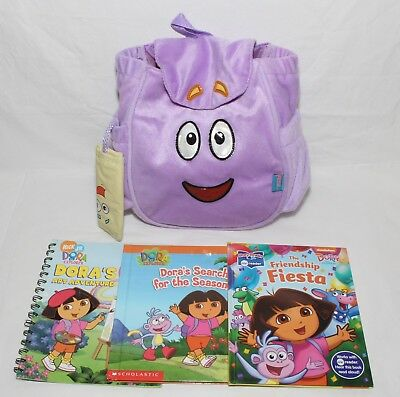 Dora the Explorer Backpack with Map & Books