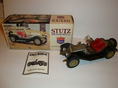 1913 Stutz Bearcat Model Car Solid State Am Radio Vintage Collector Piece Neat!!