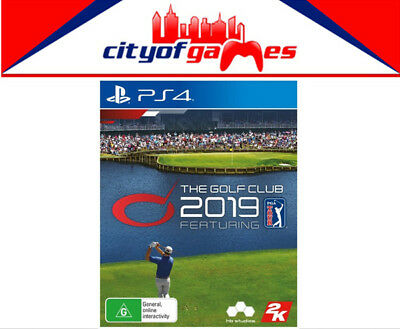 The Golf Club 2019 PS4 Game Brand New & Sealed In Stock