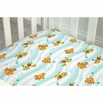 Finding Nemo Fitted Crib Sheet by Disney Baby