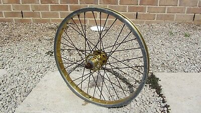 old school bmx wheel