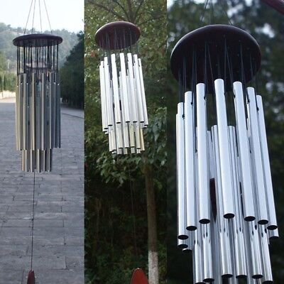 Large Resonant Wind Chimes 4 Types Copper Church Bell Home Yard Garden Decor ~