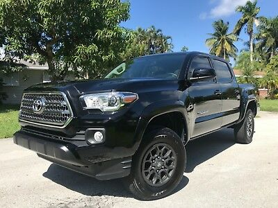 """2017 Toyota Tacoma SR5 Crew / Double Cab WOW! 4X4! $35K+ NEW! - Awesome """"THEFT RECOVERY"""" Taco - 16 18 Ranger Colorado"""