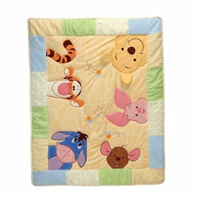Winnie the Pooh: Peeking Pooh Comforter/Quilt Only by Disney Baby
