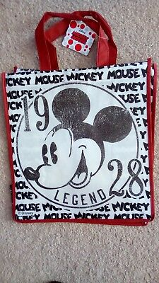 Disney Mickey Mouse / Minnie Mouse Reusable Shopping Grocery Gift Bag New