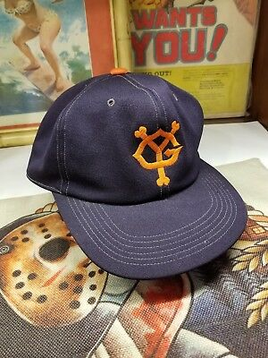 f2b8a0edbc6 Yomiuri Giants YG Japanese Tokyo Japan Vintage Zip Strap Baseball Hat Cap  Large
