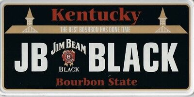 Jim Beam American Number Plate/sign Multi Coloured