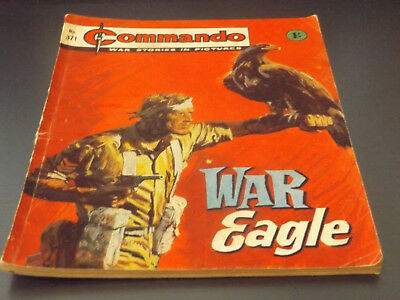 Commando War Comic Number 371 !!,1968 Issue,good For Age,50 Years Old,v Rare.