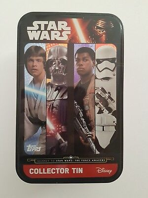Star Wars-The Force Awakens   Collector Tins  - Topps Cards