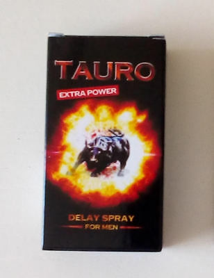 SPRAY RITARDANTE TAURO EXTRA POWER ML 5 - Super Prestazioni - Offertissima -