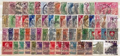 Switzerland Collection – Classics to 1948 (128 diff.) FU-VFU (2 scans)