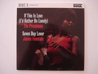 """Northern Soul 7"""" - Precisions - If This Is Love / James Fountain - 7 Day Lover"""