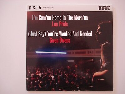 """Northern Soul 7"""" - Lou Pride - I'm Cum'un Home / Gwen Owens - You're Wanted"""
