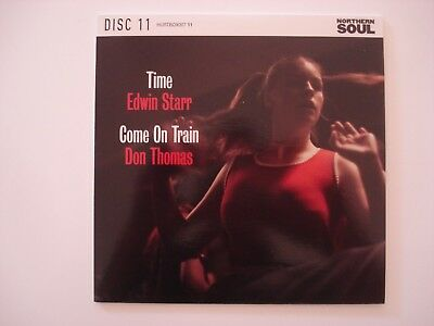 """Northern Soul 7"""" - Edwin Starr - Time / Don Thomas - Come On Train"""