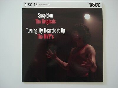 """Northern Soul 7"""" - The Originals - Suspicion / The MVP's - Turning My Heartbeat"""