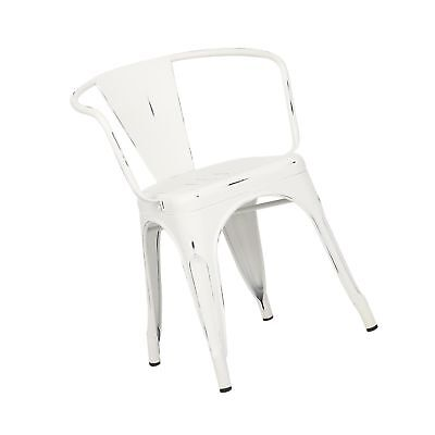Super Set Of 4 Trattoria Chairs Indoor Out Door Metal Tolix Side Bralicious Painted Fabric Chair Ideas Braliciousco