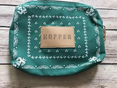 Hopper Bag Makeup bag Jetblue Mint Amenity Kit Zip Up. Bag Only
