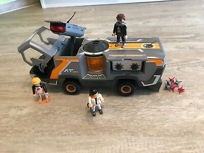Playmobil spy team truck