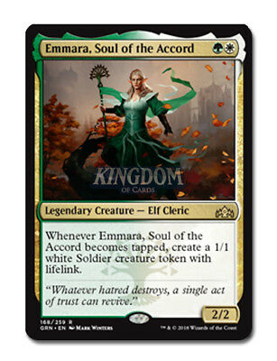 Emmara, Soul of the Accord - Guilds of Ravnica - NM - English - MTG