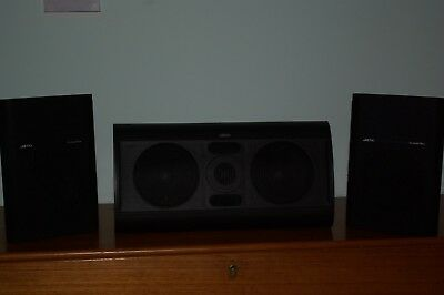 JAMO SUROUND SOUND SPEAKERS  2 X REAR   1 X CENTRE With Cables
