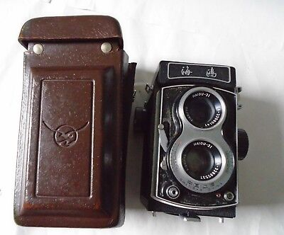 Cased 1970 Chinese Light Industrial Products SEagull 4B1 Twin Lens Reflex Camera
