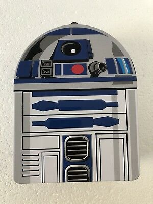 Star Wars Lunch Box Tin R2-D2 Carry All 8 Inch x 6 Inch Collectable Droid