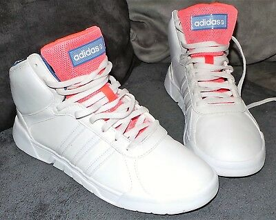 96b1ff4a8e0be BASKET MONTANTE ADIDAS neo label blanche rose pointure 39 - EUR 14 ...