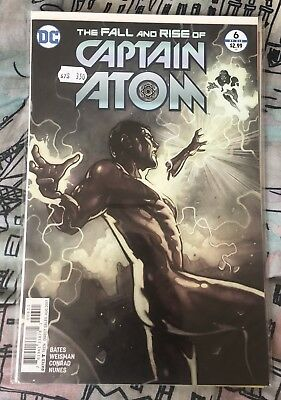 The Fall and Rise of Captain Atom #6 Of 6 Series DC Comics Mint First Print