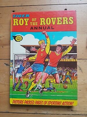 roy of the rovers annual 1973