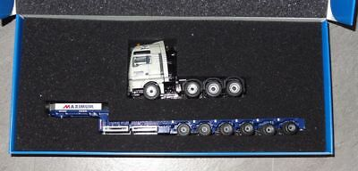Conrad MAN TGX SLT mit Goldhofer Semi-Tieflader MAXIMUM 1:50 OVP 70178/1
