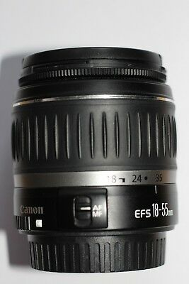 Canon EF-S 18-55mm f/3.5-5.6 II Zoom Lens - Black EOS