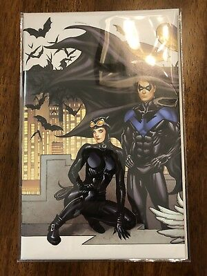 """Batman #50 Frank Cho Variant Connecting Cover """"B"""" Wedding Catwoman Nightwing"""