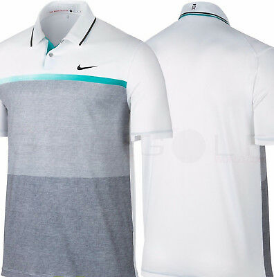 a20e3e2f New With Tags Nike Tiger Woods TW Mobility Print Golf Polo Shirt 707712-100