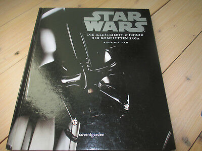 Buch Star Wars  - die Illustrierte Chronik der kompletten Saga