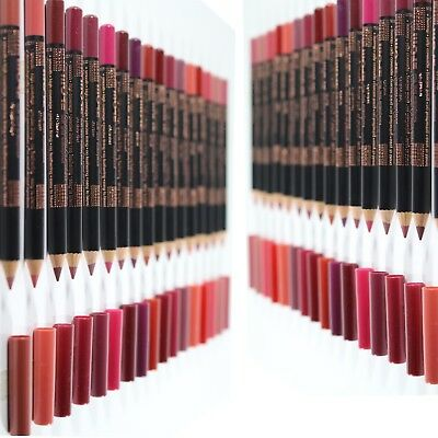 More Rich Colour Soft Lip Liner Pencil Long Stay  Water Resistant Easy To Blend