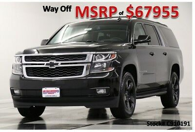 2019 Chevrolet Suburban MSRP$67955 4X4 Midnight Edition Sunroof 4WD New Navigation GPS Leather Captains Blacked Out LT 18 2018 19 Camera Bluetooth