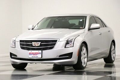 2016 Cadillac ATS Leather Bluetooth Radiant Silver Metallic Sedan