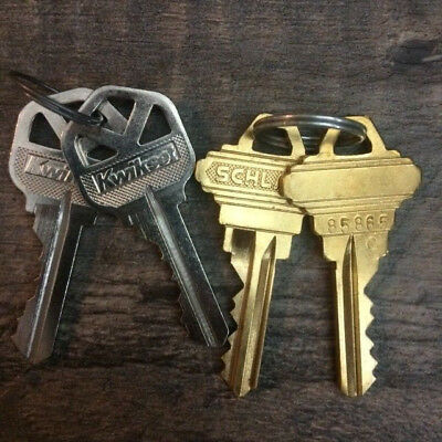Schlage or Kwikset Key Cut to Code SC1 KW1