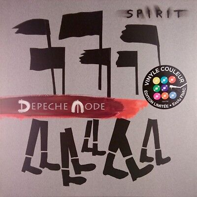 Depeche Mode – Spirit - Limited Edition - Red Clear Vinyl