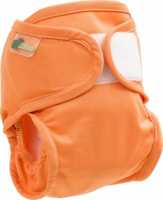 Little Lamb nappy cover (20-38lbs; orange)