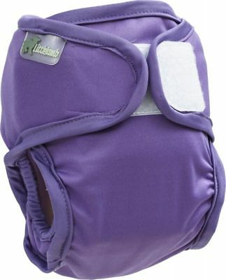 Little Lamb nappy cover (20-38lbs; purple