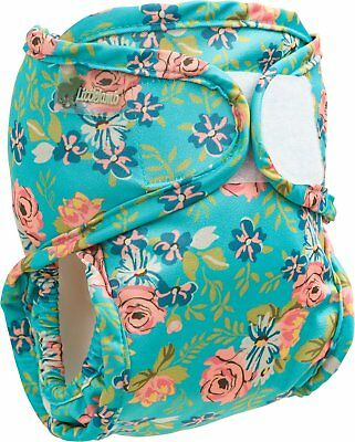 Little Lamb nappy cover (20-38lbs; floral)