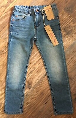 NEW Boys Skinny Stretch Jeans, Age 6-7 Years