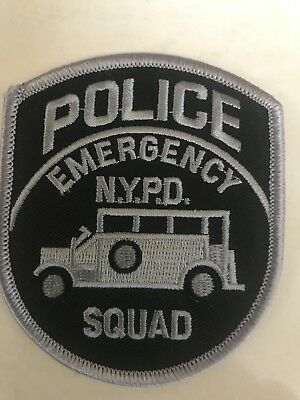 NYPD New York City Police Department  Subdued ESU Patch